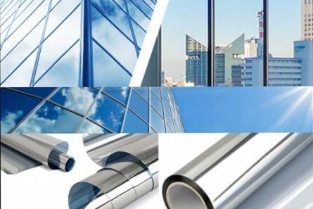 G-M 20 Silber / Silber Spiegelfolie - Preis ohne MwSt. Qm