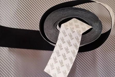 Felt tape 3M - black 5cm