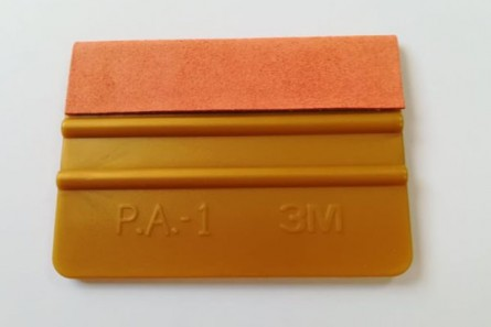 "GT 079 4""3M Gold Squeegee with felt"