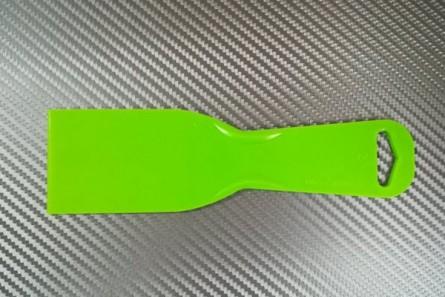 Green spatula 5 cm