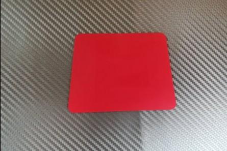 Foil applicator - trapezoid, orange