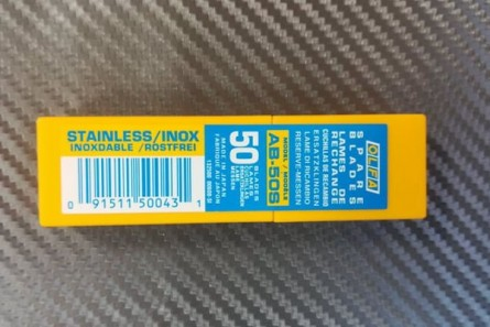 Spare blades Olfa 50 -1