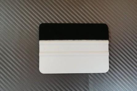 GT1064 – 4″Апликатор с ребра и  филц - бял